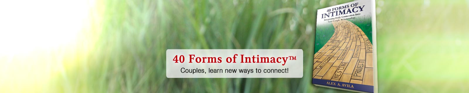 40 Forms of Intimacy™ Book